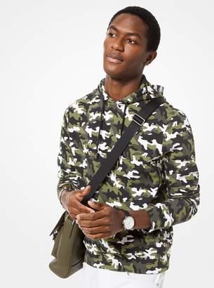 Michael Kors Camouflage Scuba Hoodie