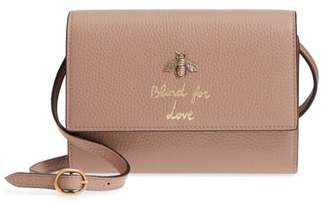 Gucci Animalier Bee Leather Wallet