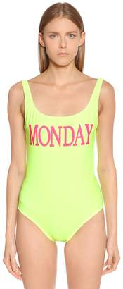 Alberta Ferretti Monday Lycra One Piece Swimsuit