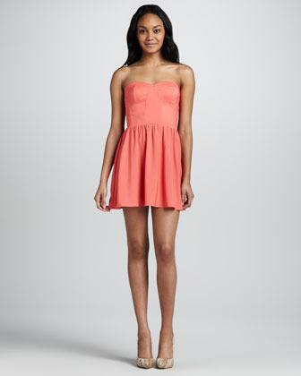 6 Shore Road Margarita Strapless Mini Dress