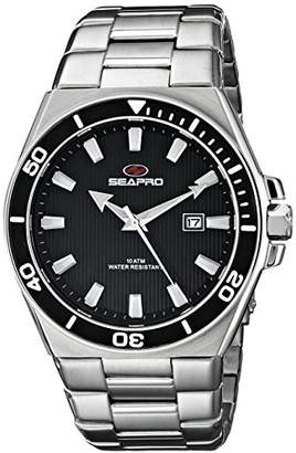 Seapro Men's SP8112 Storm Analog Display Quartz Silver Watch
