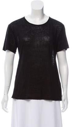 Alexander Wang Linen & Silk-Blend Lightweight T-Shirt