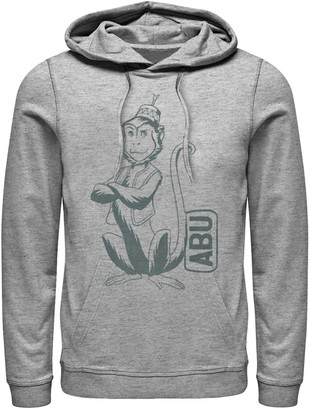 Disney Disney's Aladdin Men's Abu Graphic Hoodie