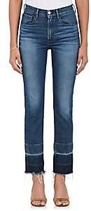 3x1 Women's W4 Shelter Straightleg Crop Jeans - Dk. Blue