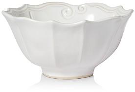 Incanto Stone White Baroque Medium Serving Bowl