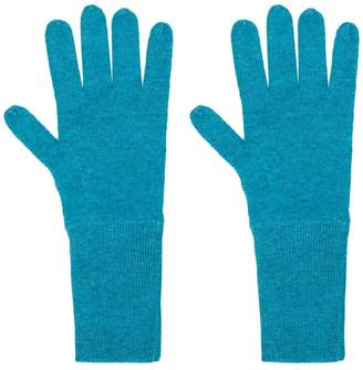 Allude knit gloves