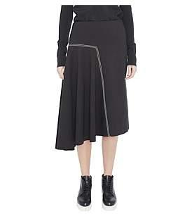 Bassike Stretch Asymmetric Skirt