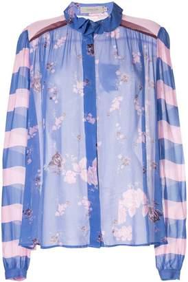 Preen Line floral Grace blouse