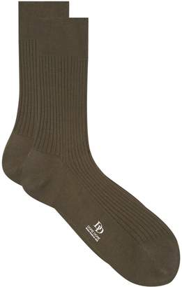 Dore Dore Cotton Ribbed Socks