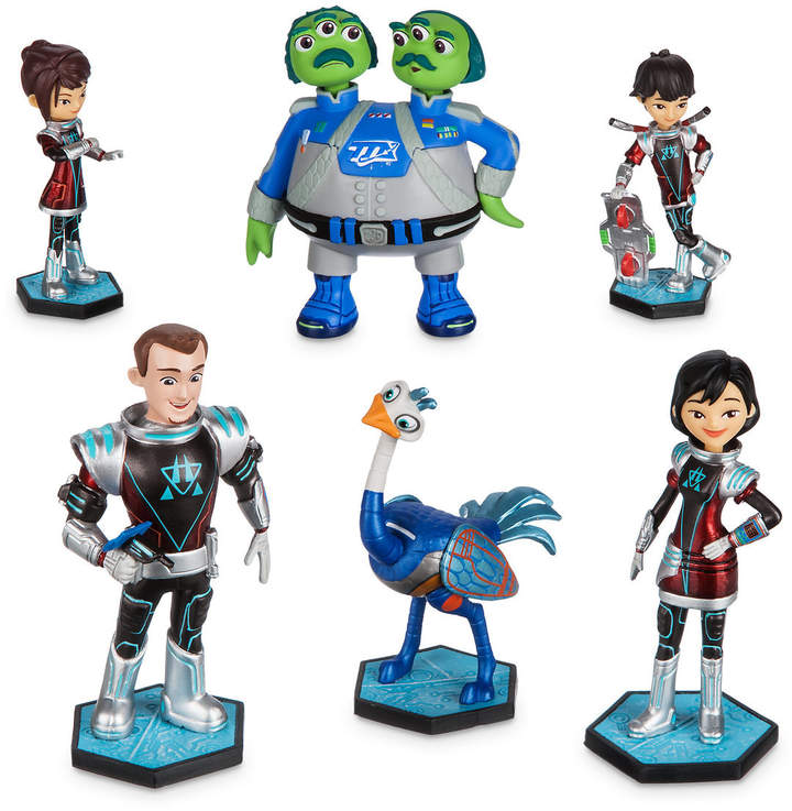 Miles From Tomorrowland Galatech Figure Play Set