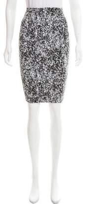 Nadia Tarr Printed Pencil Skirt
