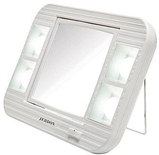 Jerdon 5X/1X LED Lighted Makeup Mirror