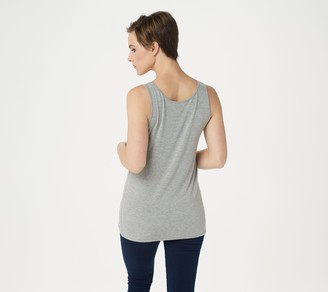 37b7711c9e Rounded Bottom Tank Tops - ShopStyle