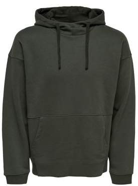ONLY & SONS Onsterry Boxy Cotton Hoodie