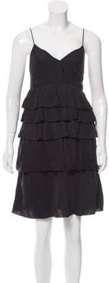 Thakoon Tiered Silk Dress