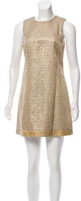 ABS by Allen Schwartz Brocade Shift Dress