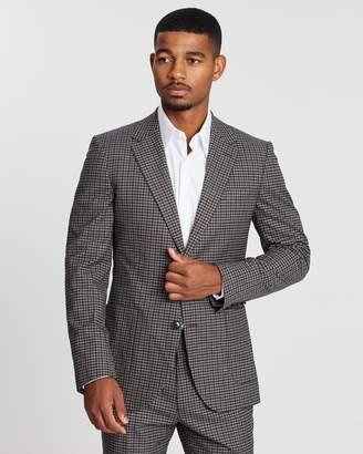 Reiss Tripper Tonal Check Suit Jacket