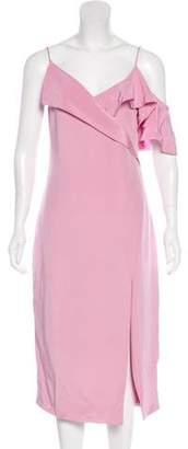 Cushnie et Ochs Silk Midi Dress w/ Tags