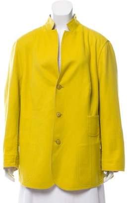 Akris Reversible Wool Blazer