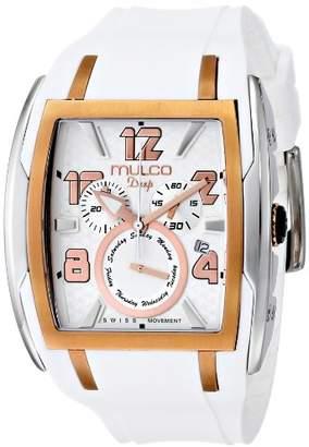 Mulco Unisex MW1-13187-013 Analog Display Swiss Quartz White Watch