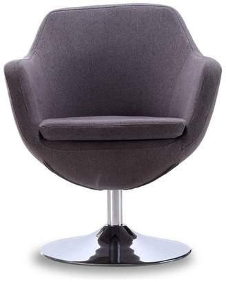 CEETS Caisson Swivel Accent Chair