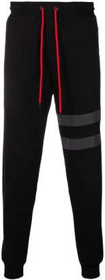 Karl Lagerfeld reflective stripe joggers