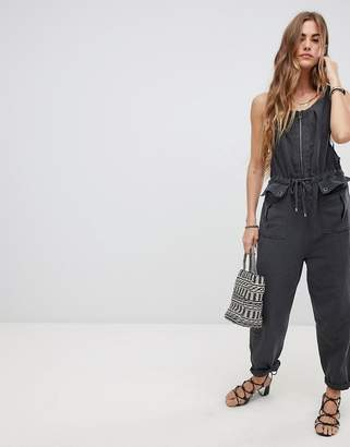 Free People Lovely Desert Boiler Jumpsuit