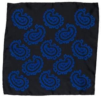 Tom Ford Printed Silk Pocket Square w/ Tags