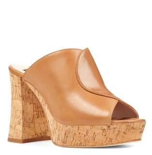 5b1e3000dae ... Nine West Lisana - 40th Anniversary Capsule Collection Platform Slide  Sandal