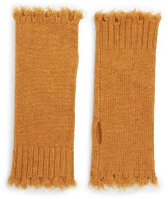 Frye Frayed Edge Wool Arm Warmers