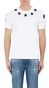 Givenchy Men's Star & Numbers Jersey T-Shirt - White