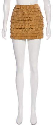 Undercover Suede Mini Skirt