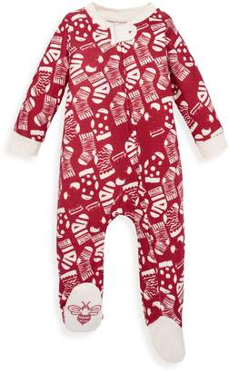 Burt's Bees Holiday Stockings Organic Sleep & Play Pajamas