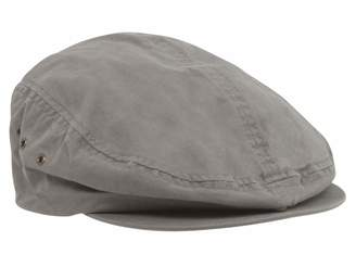 Mega Cap Ivy Washed Canvas Newsboy Hat Cap