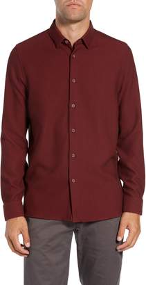 Ted Baker Piccatt Extra Slim Fit Stretch Solid Sport Shirt