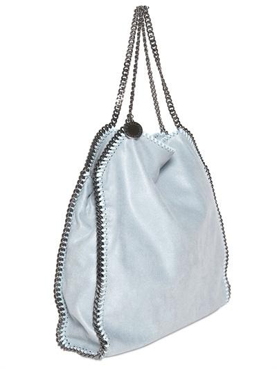 Stella McCartney Large Falabella Shaggy Faux Deer Bag