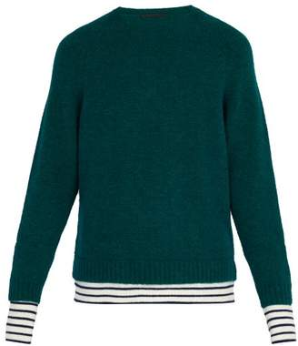 Haider Ackermann Wool Blend Sweater - Mens - Green
