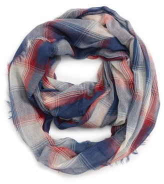 Women's Bp. Plaid Infinity Scarf $19 thestylecure.com