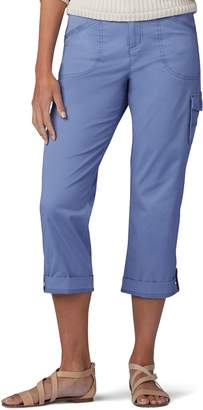 Lee Women's Relaxed Fit Flex-To-Go Cargo Capris