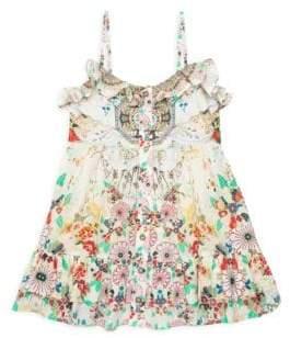 Camilla Little Girl's& Girl's Printed Sundress