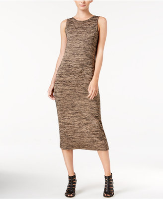 kensie Space-Dyed Midi Dress $69 thestylecure.com