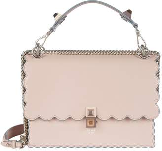 Fendi Scalloped Kan I Shoulder Bag