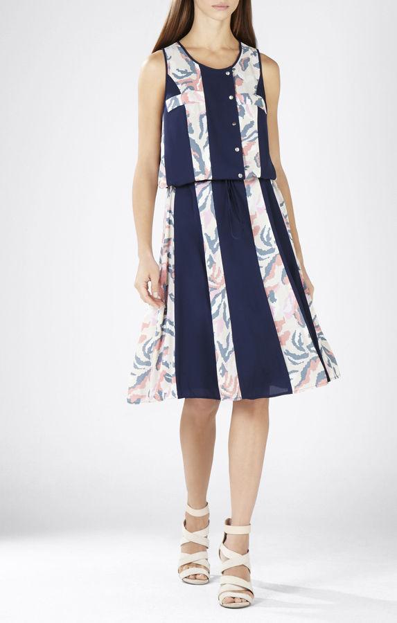 BCBGMAXAZRIACourtnee Print-Striped Dress