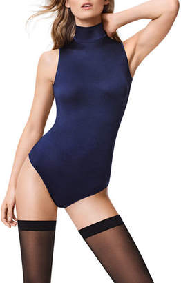 e968a5c2bff79 ... Wolford Sonja Turtleneck String-Back Bodysuit
