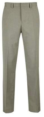Burton Mens Big & Tall Copper Tailored Fit Stretch Trousers