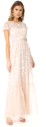 Needle & Thread Tulle Meadow Gown $633 thestylecure.com