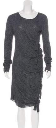 Gryphon Long Sleeve Midi Dress