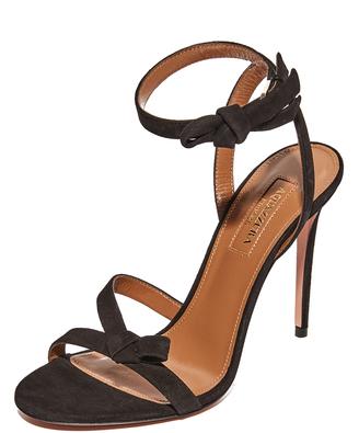 Aquazzura Passion 105 Sandals $775 thestylecure.com