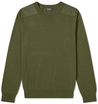 A.P.C. Ernest Military Crew Knit