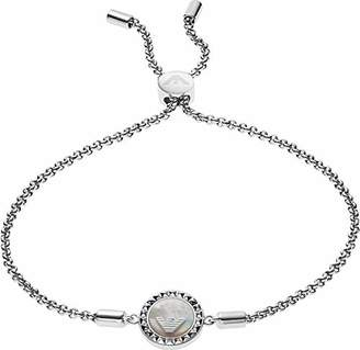 Emporio Armani Women Silver Hand Chain Bracelet EG3347040